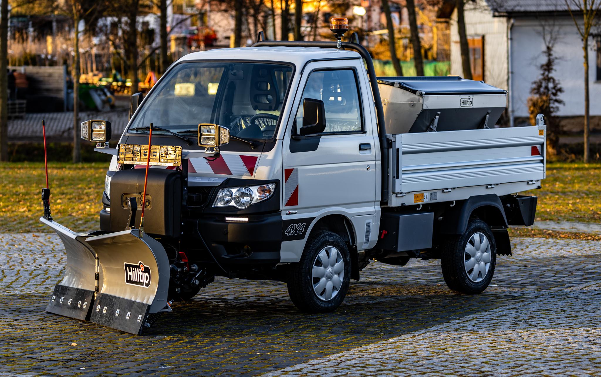 Winterdienstfahrzeuge kaufen Piaggio Porter: Hersteller, Handel, Vertrieb, Lieferant - HWNtec Winterdienstfahrzeuge